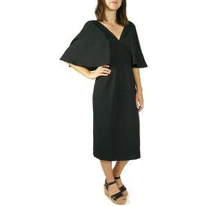 Dress The Population Louisa Flutter Sleeve Dress